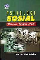 toko buku rahma: buku PSIKOLOGI SOSIAL SUATU PENGANTAR, pengarang bimo walgito, penerbit andi