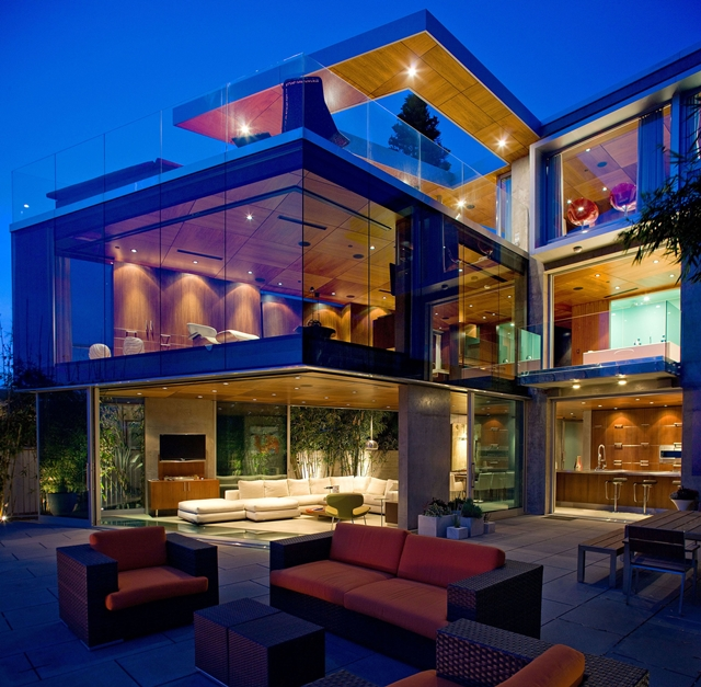World Of Architecture Cliff House Lemperle Residence By Jonathan - Modern house on cliff