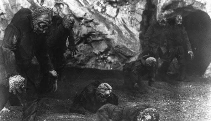 Mole People Makhluk yang Keluar Dari Tanah