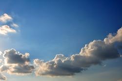 Wolkenband...