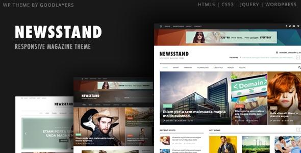 Download Newsstand - Responsive Magazine & Editorial WordPress Theme