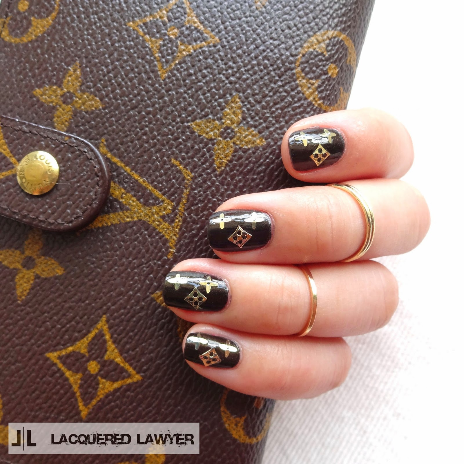 Lacquered Lawyer | Nail Art Blog: LV Love