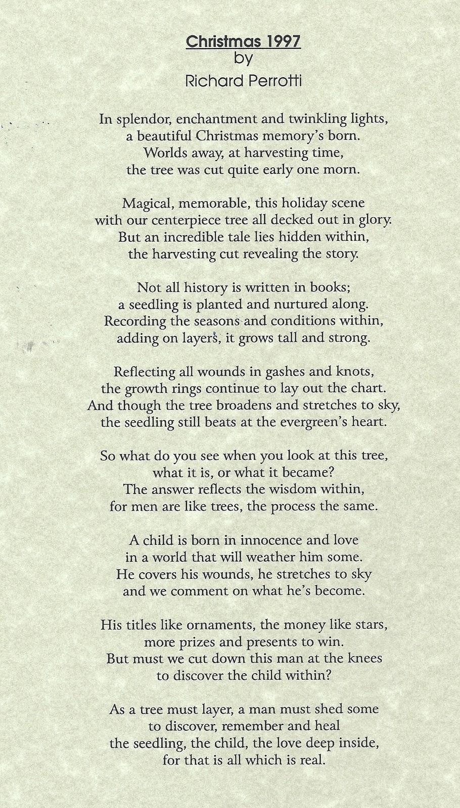 the seedling poem