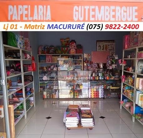 PAPELARIA GUTEMBERGUE - MACURURÉ BA