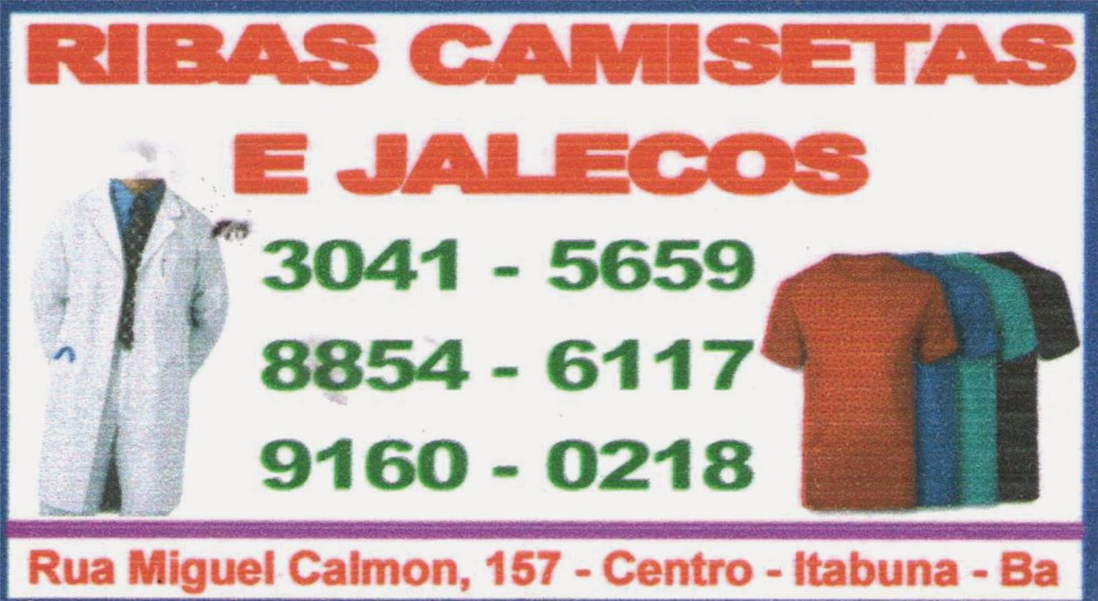 RIBAS CAMISETAS E JALECOS