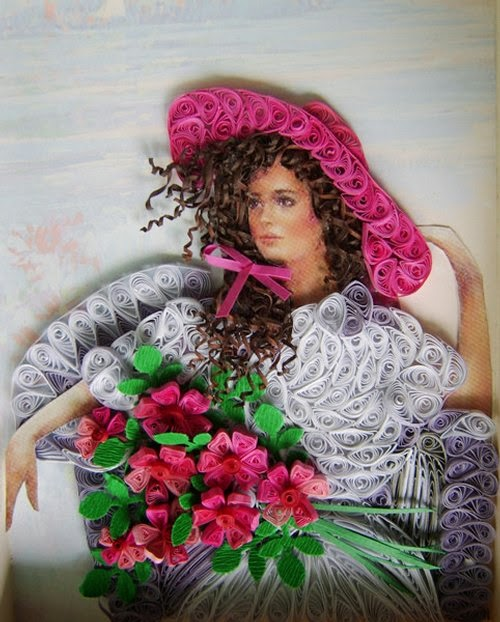 12-Eugenia-Evseeva-Quilling-Paper-&-Photo-Portraits-www-designstack-co