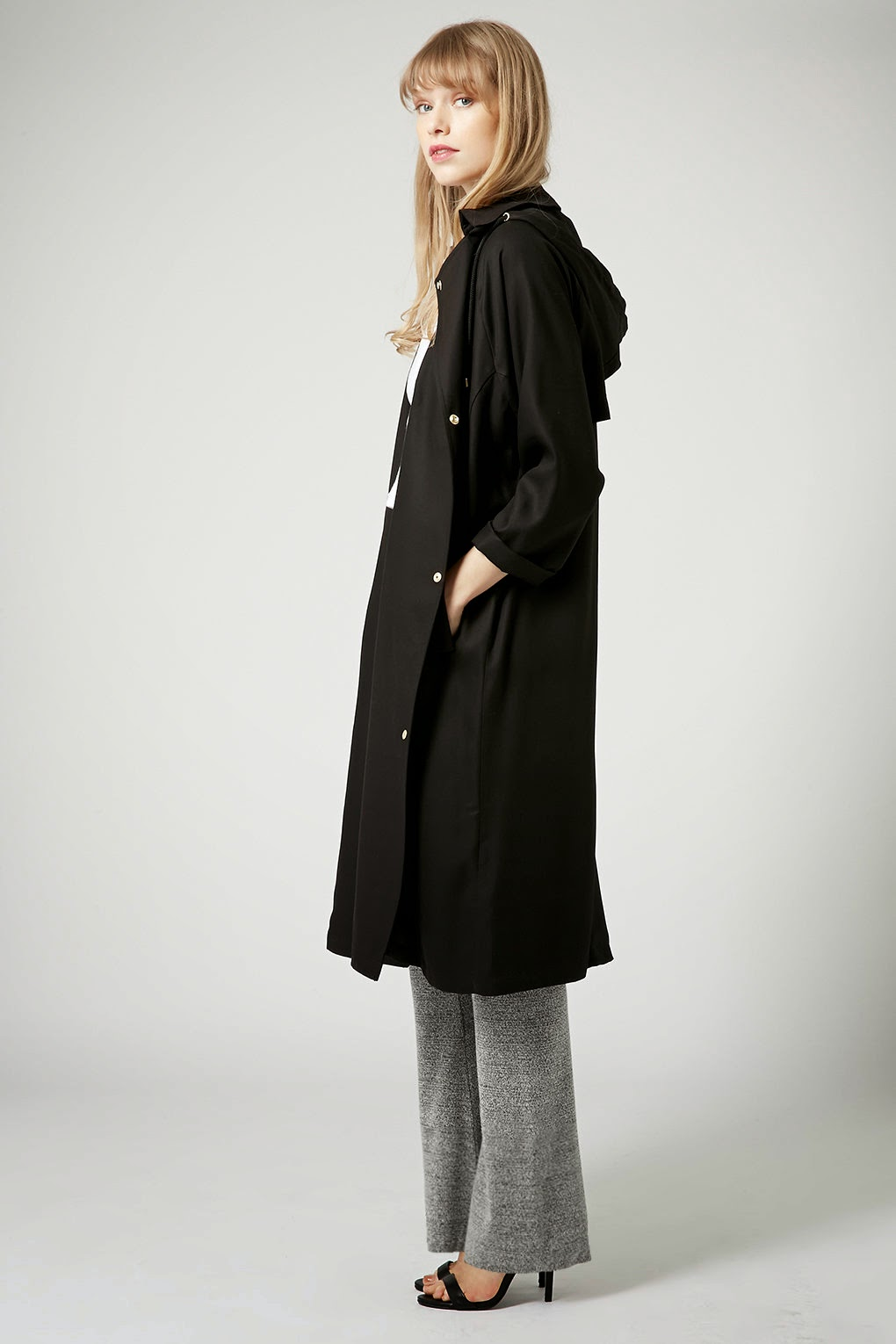 topshop long black coat, topshop black coat 2015,