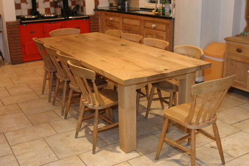 different types and styles of farmhouse kitchen tables