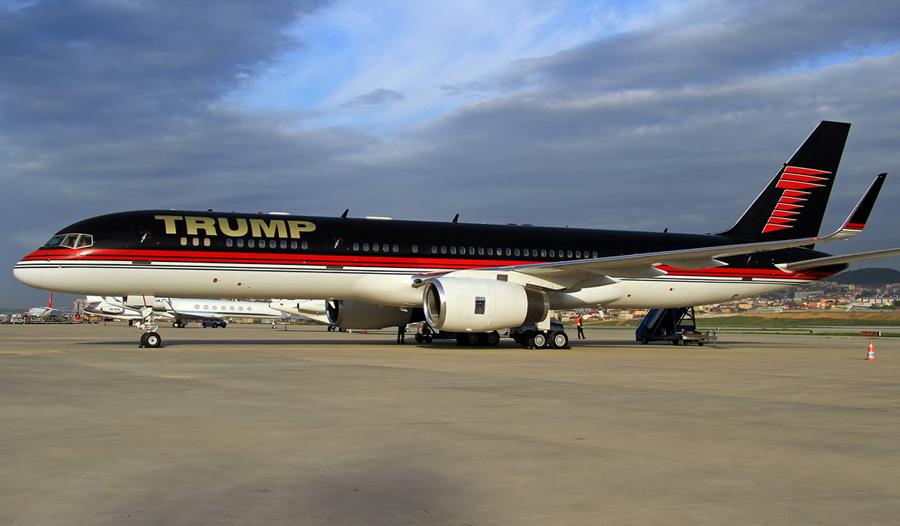grasshoppair.com: [Lajstromjelek nyomában] N757AF 'Trump ...