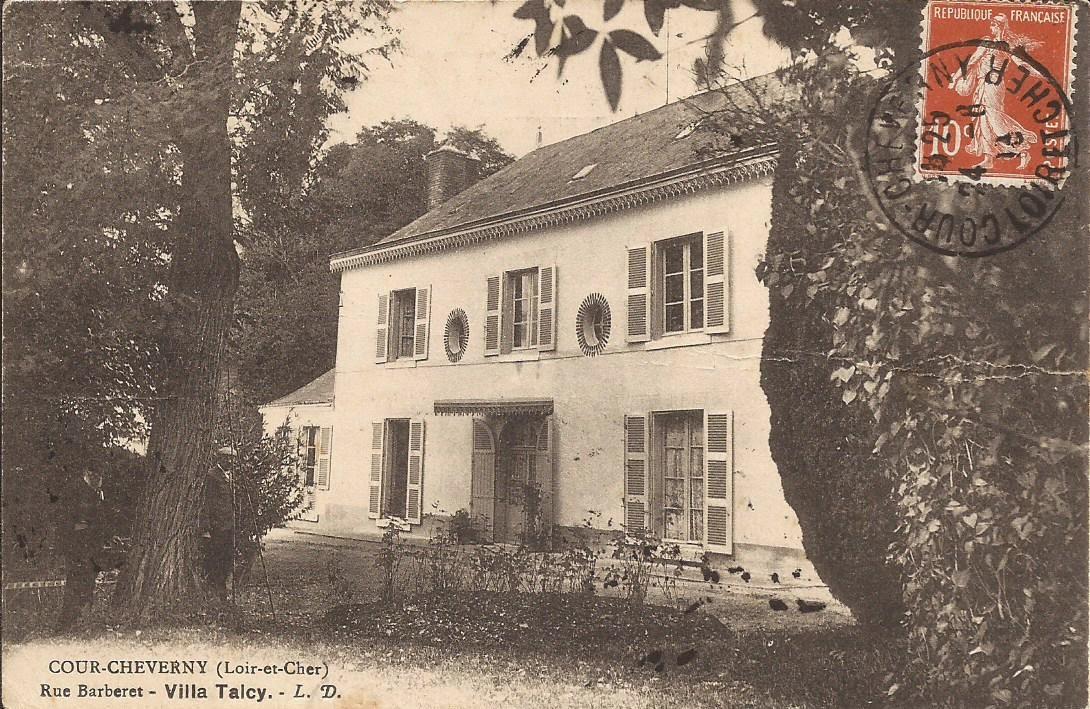 Villa Talcy - Cour-Cheverny