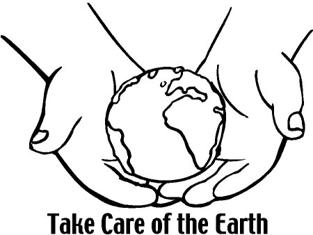 Planet Earth Day Coloring Pages For Kids To Color And Print