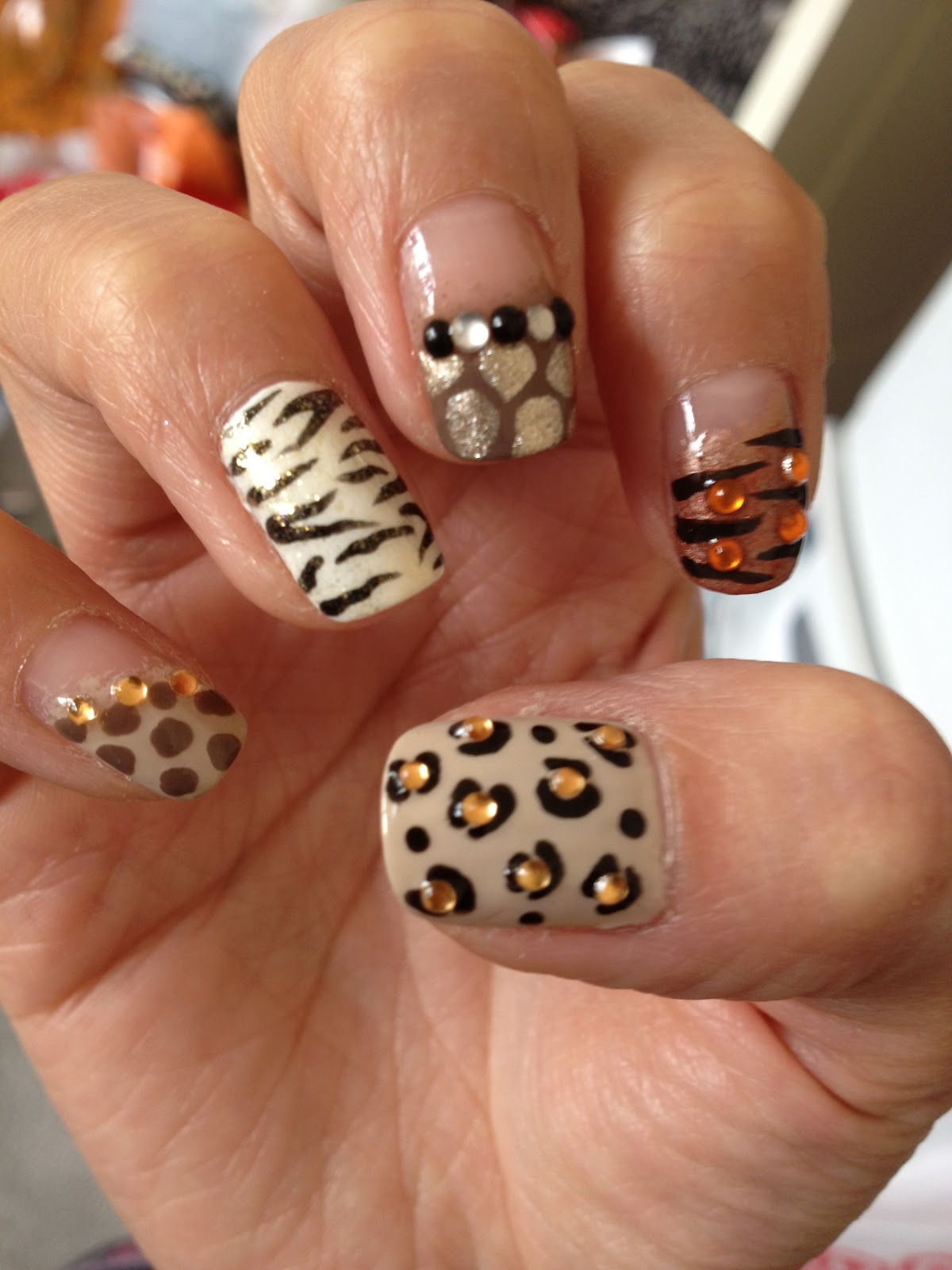 The Amazing Cheetah print nail designs 2015 Digital Imagery
