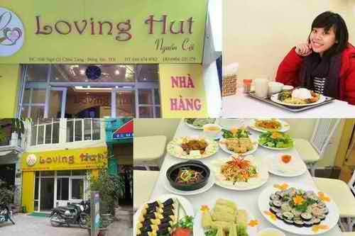 Ăn chay và sống xanh cùng chuỗi nhà hàng Loving Hut, am thuc, dia chi am thuc, nha hang ha noi, diemanuong365