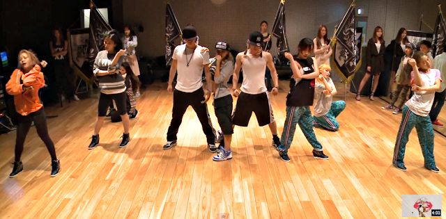 cl the baddest female dance practice
