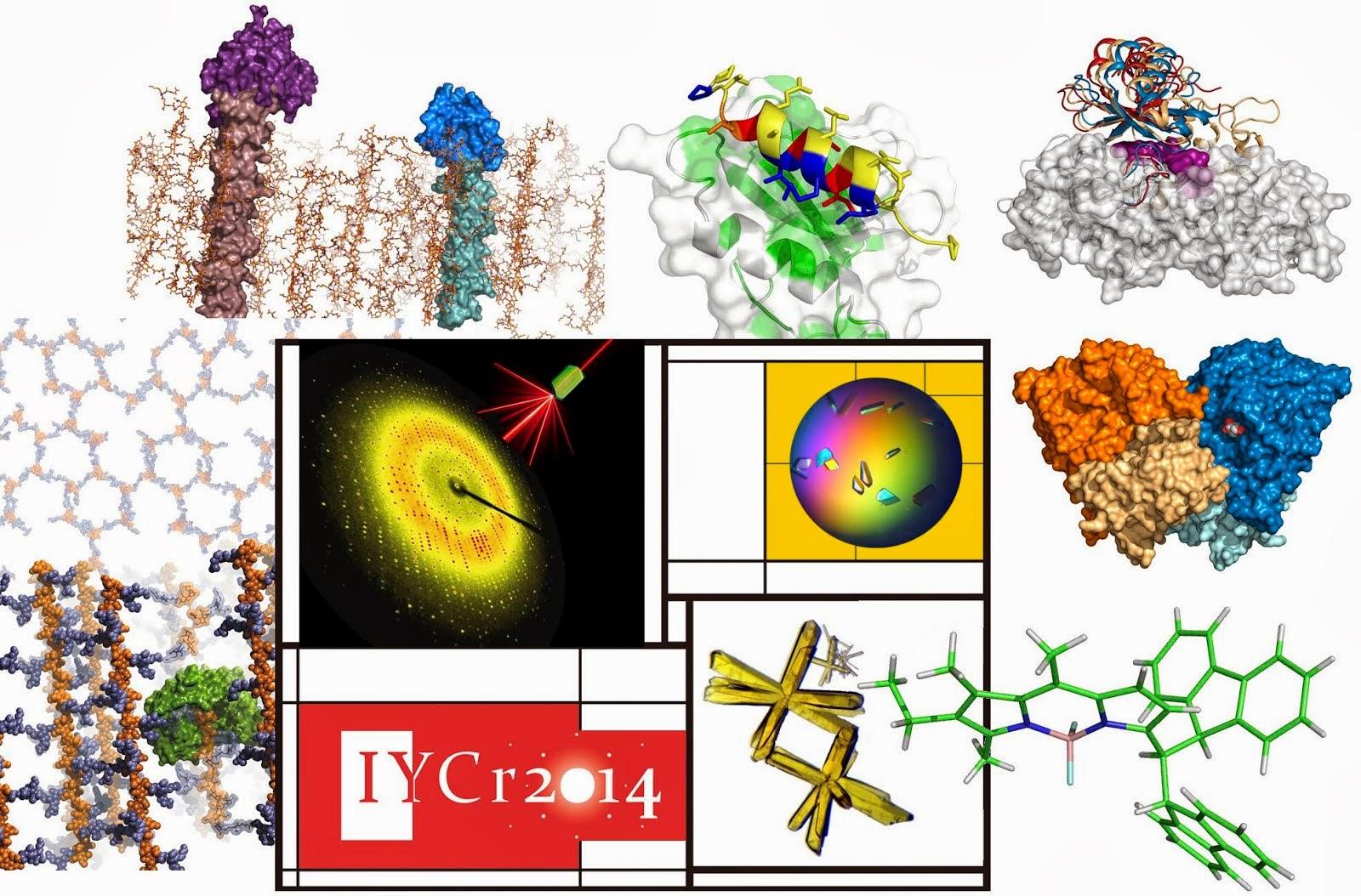 2014, año Internacional de la Cristalografía