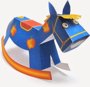 2014 Year of the Horse Papercraft