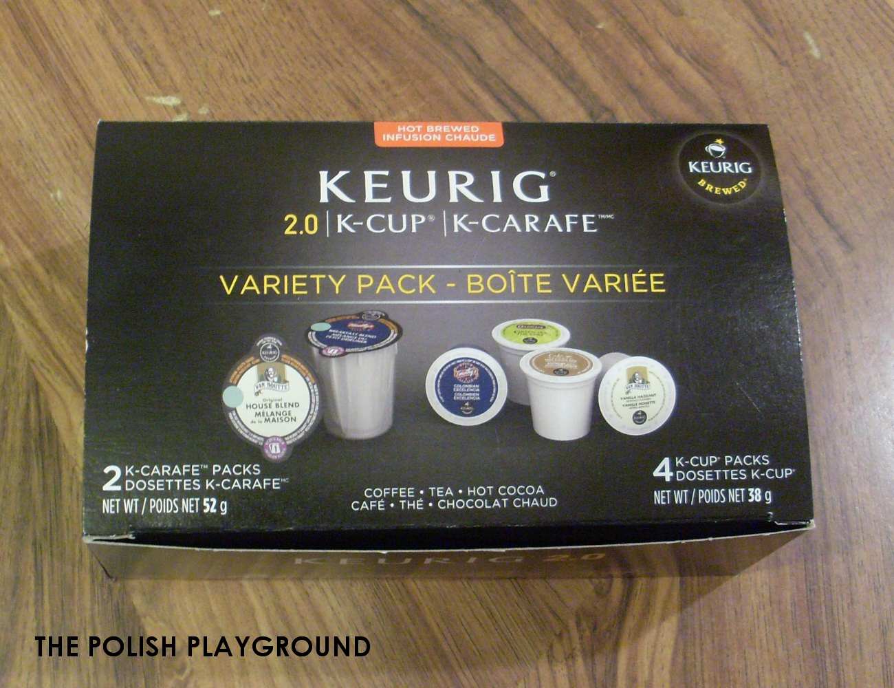 Influenster - Keurig 2.0 K-Cup Packs and K-Carafe Packs