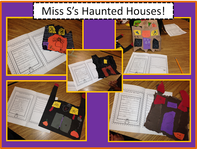 Halloween Haunted Houses in 2nd Grade, The Schroeder Page