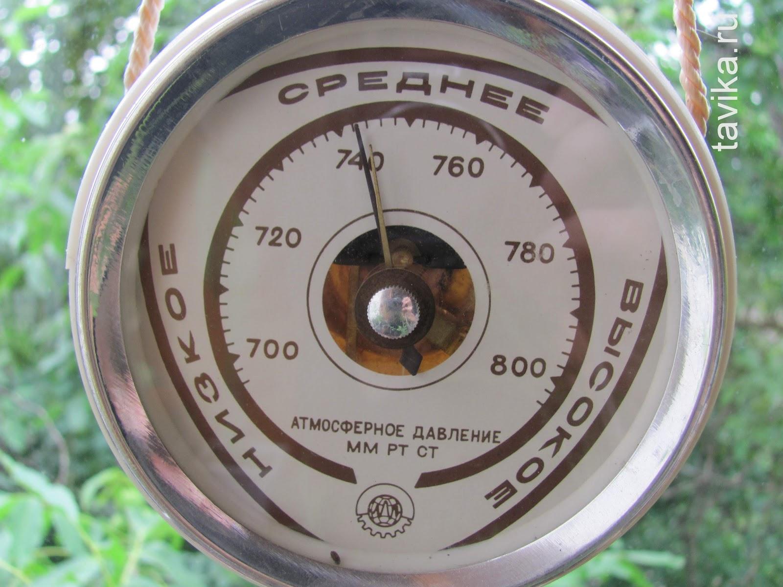 Сделать барометр в домашних условиях