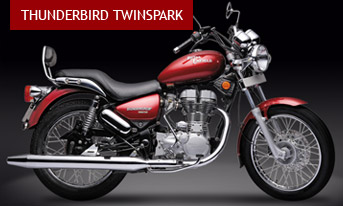 The Thunderbird Twinspark will be the first model to feature Royal Enfield's revolutionary Unit Construction Engine