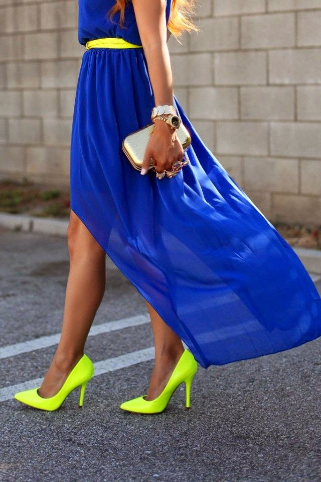 Neon Is Attractive Color And This Season find more women fashion ideas on