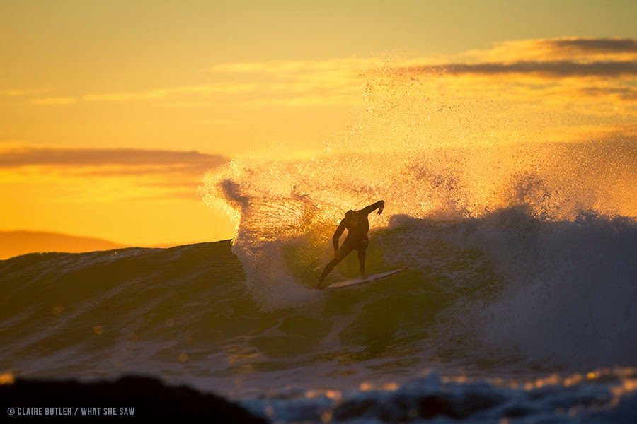 Kolohe Andino Supertubes J-Bay Open 2014 by Claire Butler