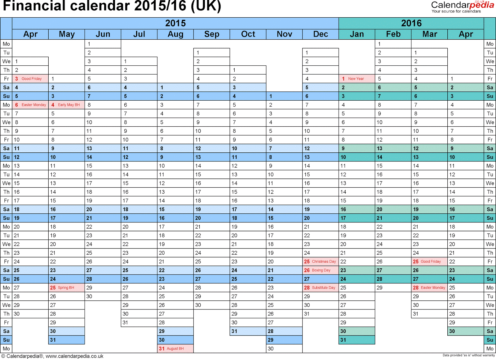 split year calendars for 2016-17 | Free Calendars 2016 Images …