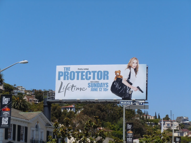 The Protector Lifetime billboard