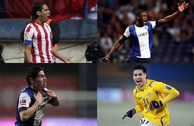 Los futbolistas colombianos fueron sinónimo de título en este 2012