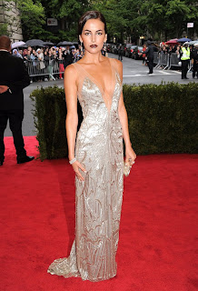Camilla Belle in Met Gala 2012