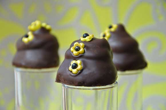 Chocoladebonbon met Limoncello crème