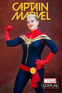 Captain Marvel #1 - Cosplay Variant