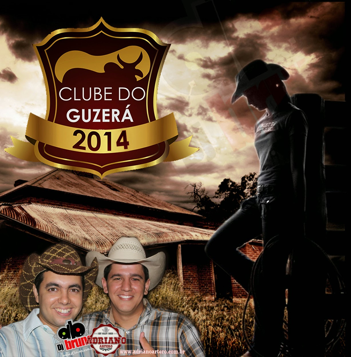 Dj Bruno Granado - Comitiva Clube do Guzer� Vol.7