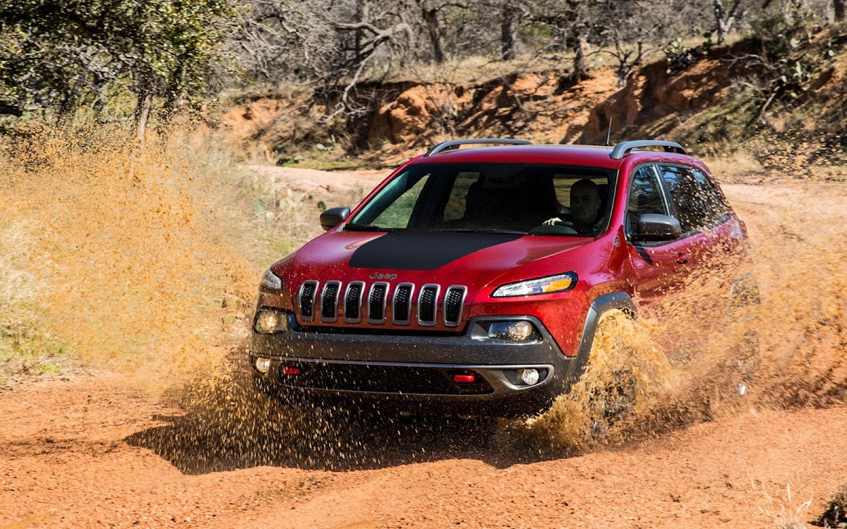 2014 Jeep Cherokee Widescreen HD Wallpaper 5