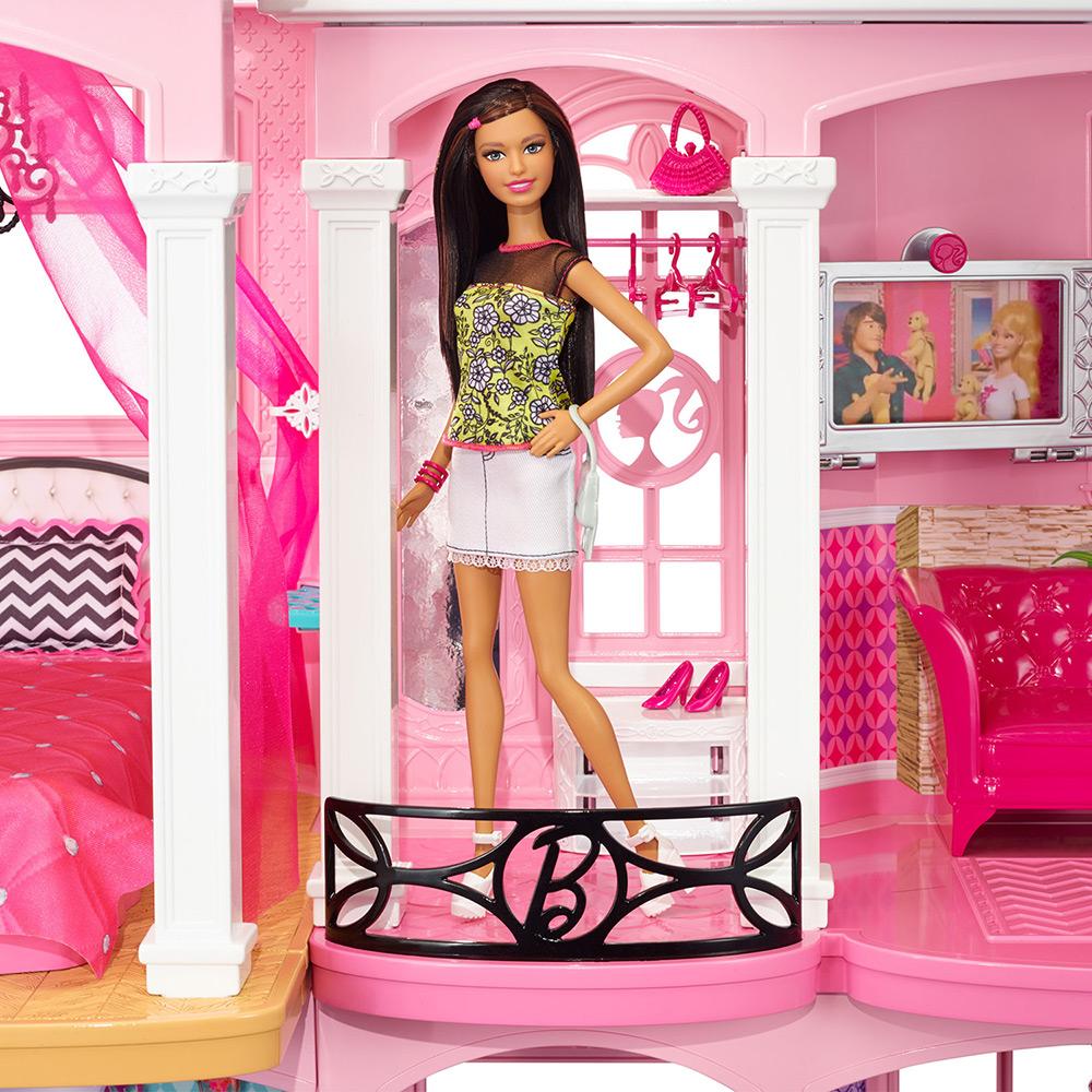 Canal da lulu casa dos sonhos da barbie dreamhouse 2015 for Sala de estar barbie