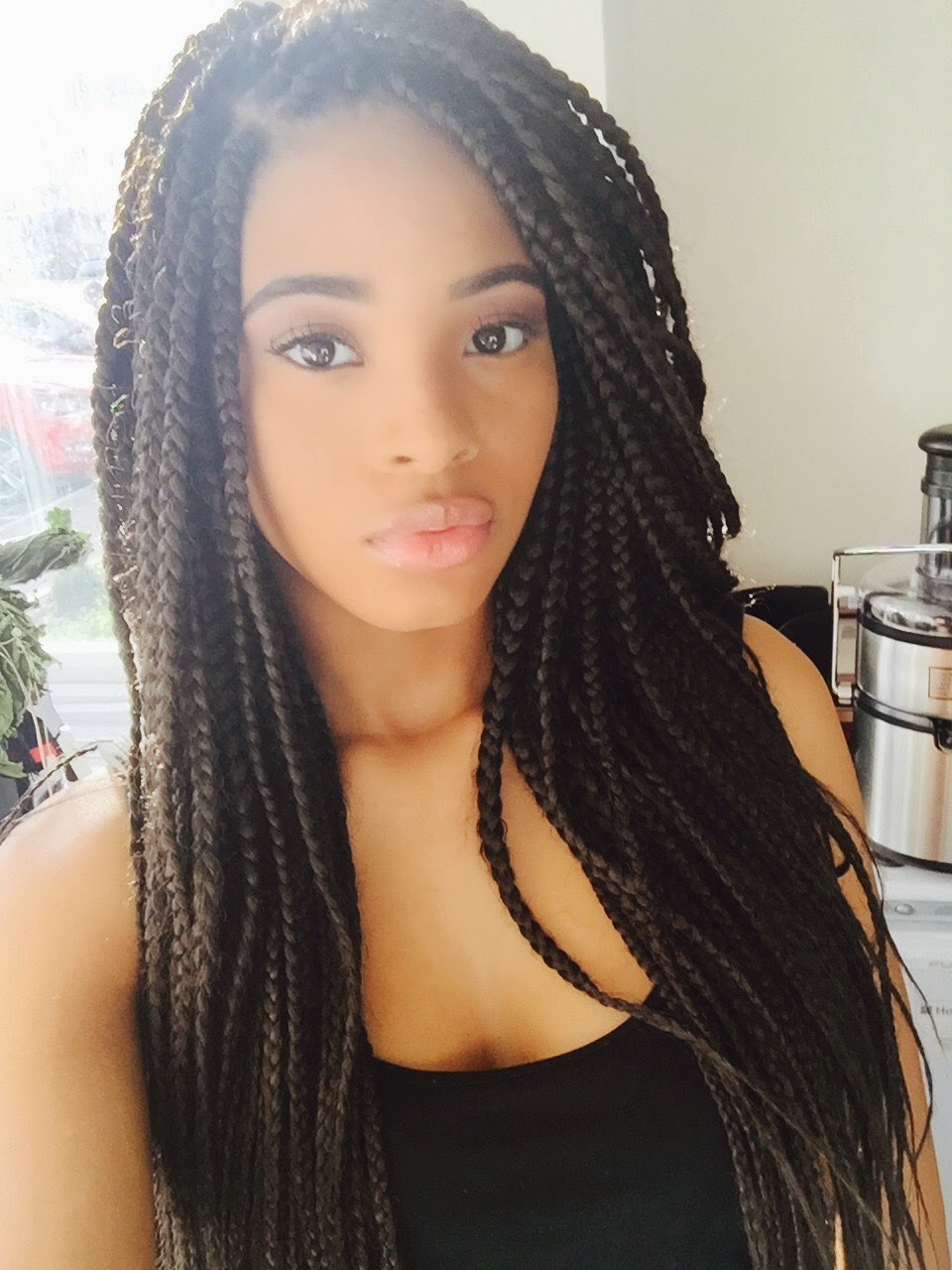 box braids pinterest