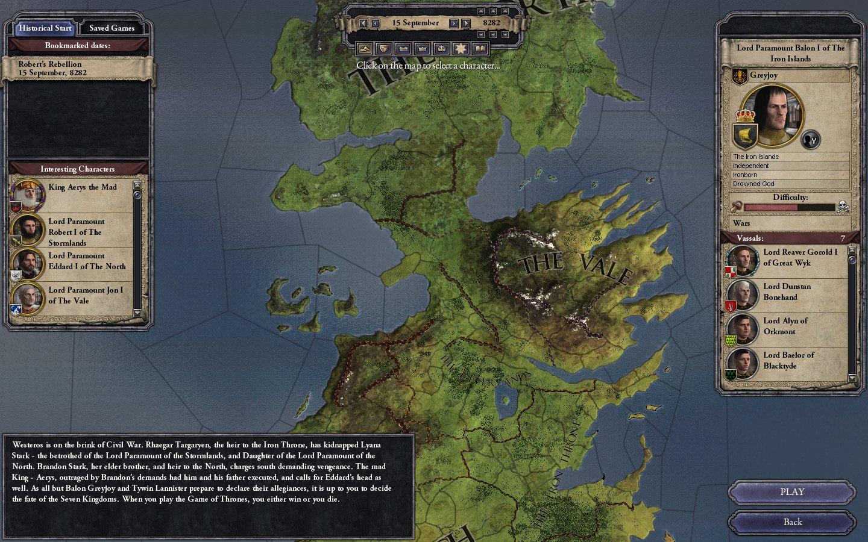 Crusader kings Game of Thrones download