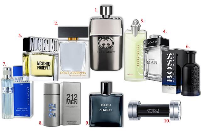 los perfumes mas vendidos:
