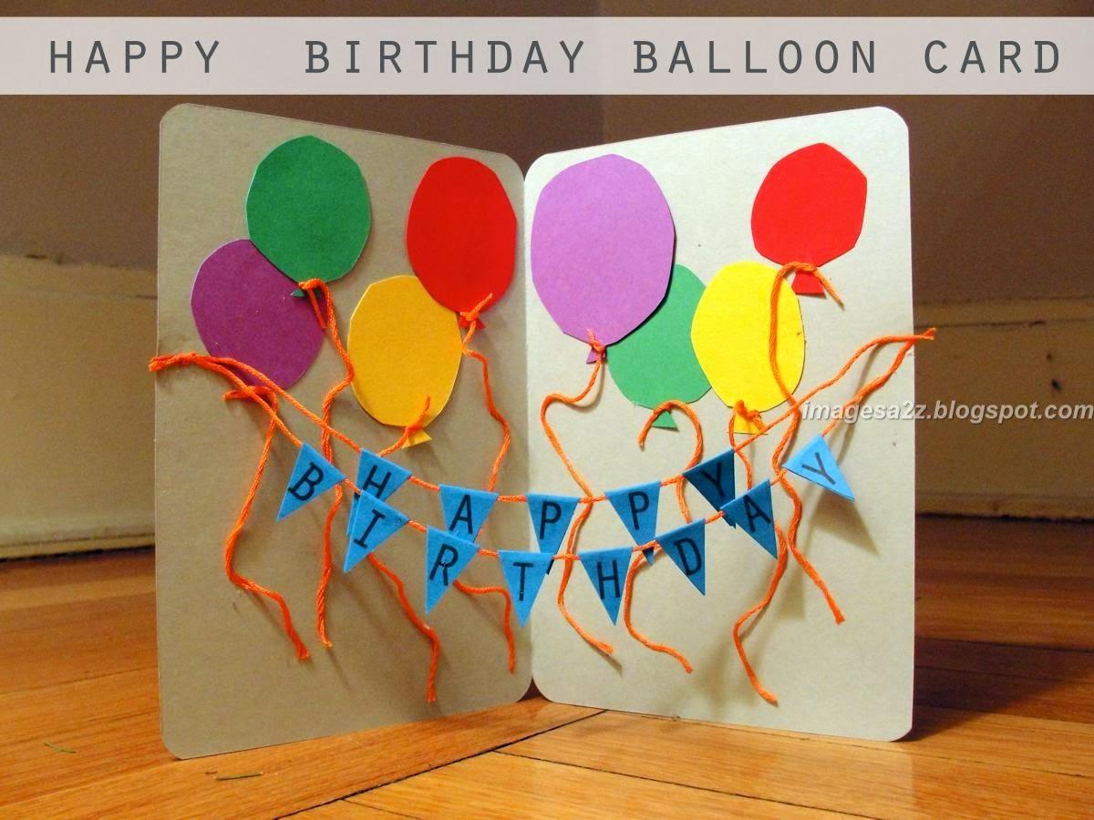 Поделки для детей на день рождения