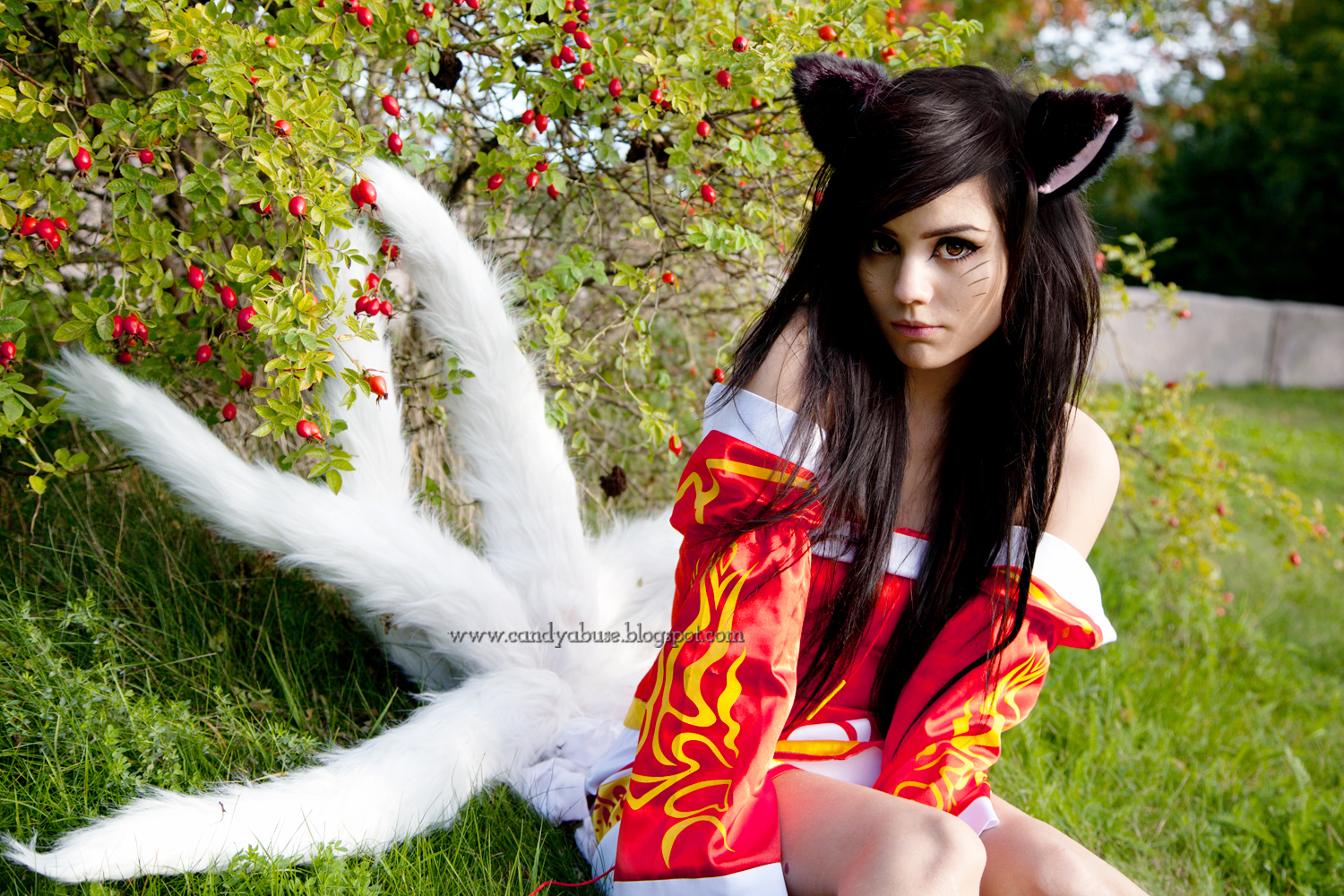 league of legends cosplay ahri sexy