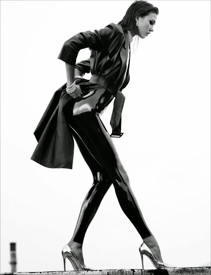 Fetish Inspirations : Karlie Kloss For Numéro #137 By Greg Kadel