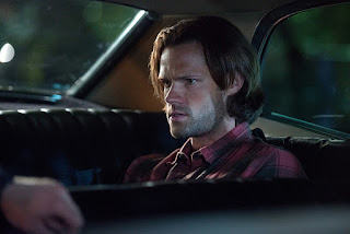 "Jared Padalecki as Sam Winchester in Supernatural 11x04 ""Baby"""