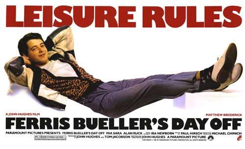 Review : Ferris Bueller's Day Off ( 1986 ) | tyazism's journal