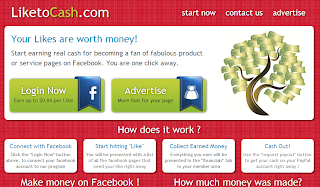 screenshot liketocash.com