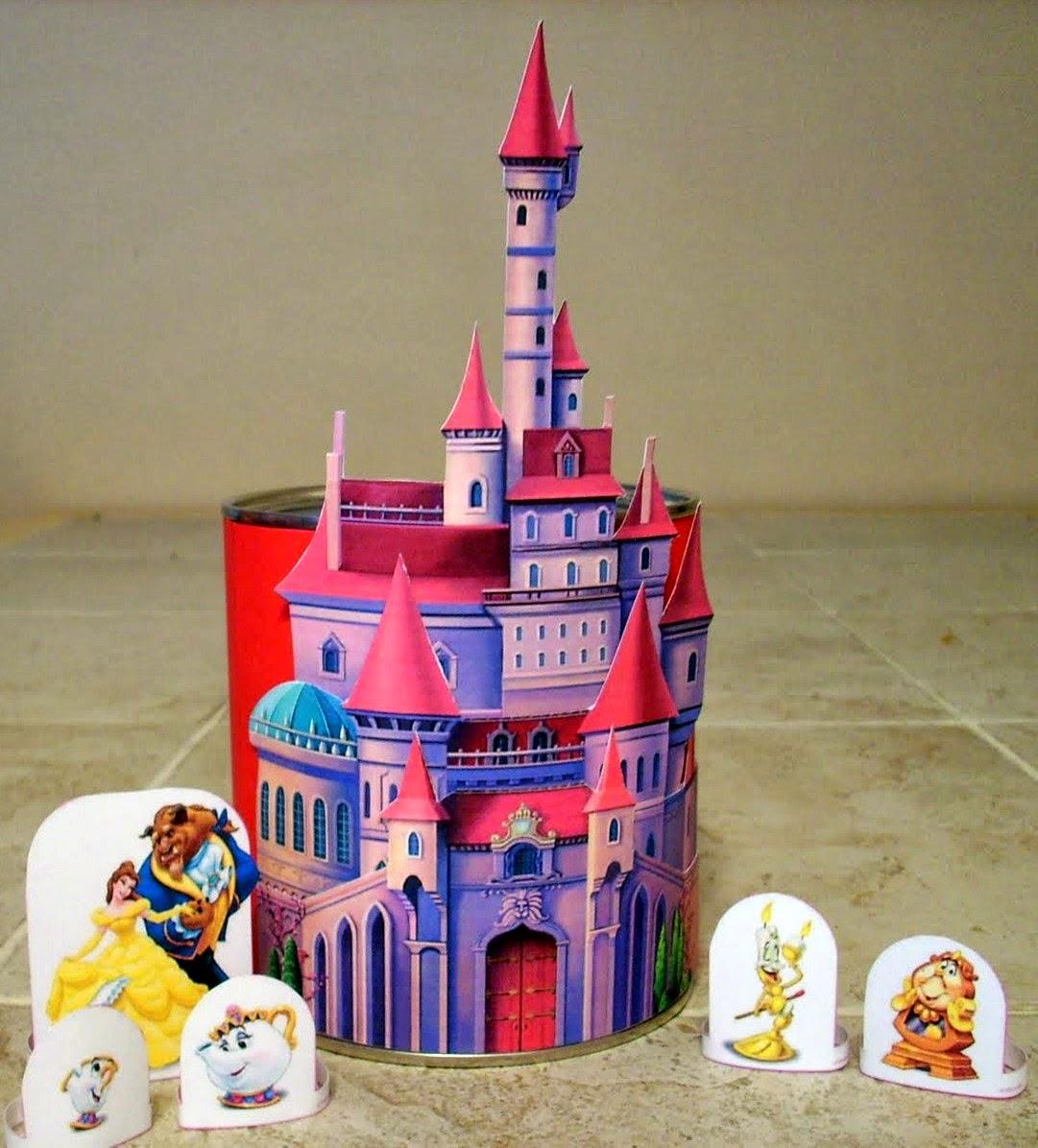 Castillo de Bella para Imprimir Gratis.