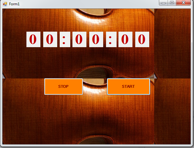 timer in c# waqeeh