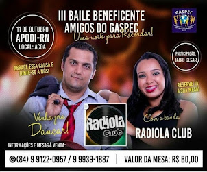 3º BAILE BENEFICENTE DO GASPEC!!!!