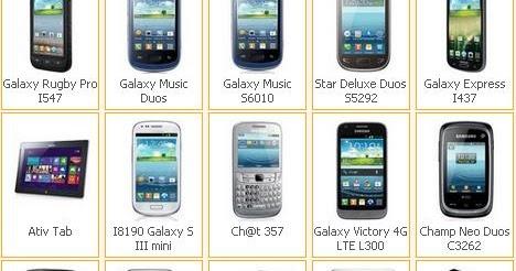 Harga HP Samsung Terbaru Bulan Januari 2013