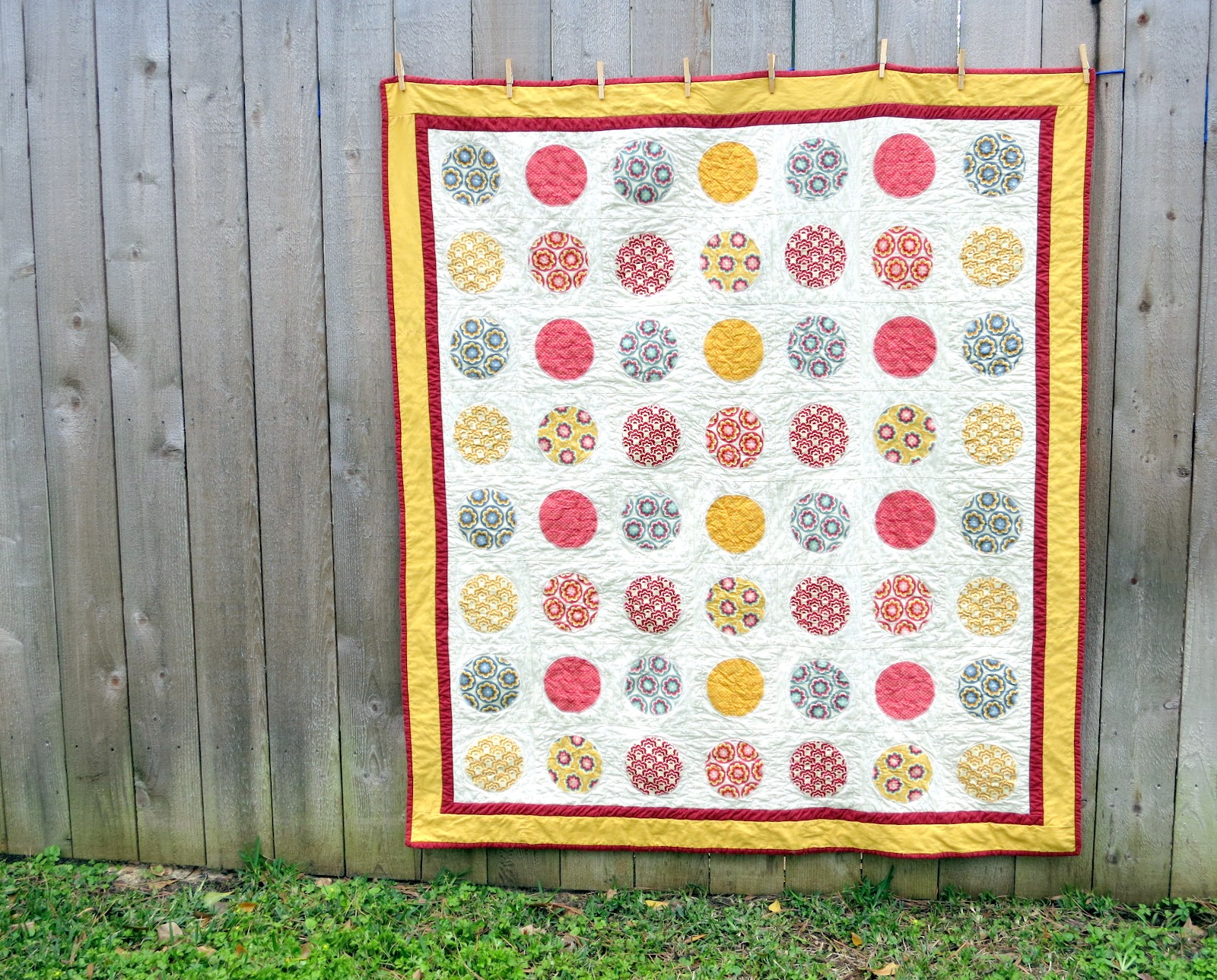 Will It Go Round In Circles Free Quilt Pattern And Tutorial