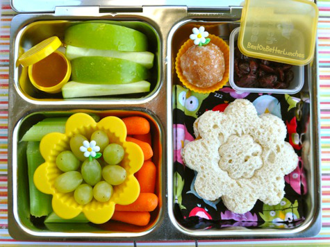 Pretty PlanetBox bento school lunch